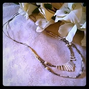 Vintage Art Deco Mother of Pearl Necklace